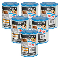 12 Cartouches de Filtration Intex pour Spa Intex