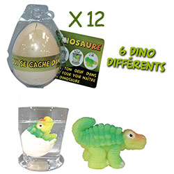 12 Oeufs Magiques Dinosaures