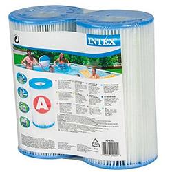 Lot de 2 cartouches Intex - TYPE A pour filtration piscine