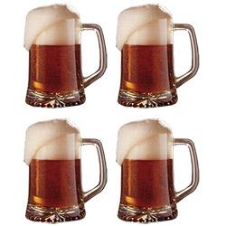 4 Verres à Bière