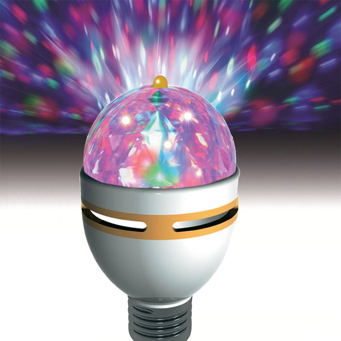 jeu de lumi re lampe ampoule disco rotative