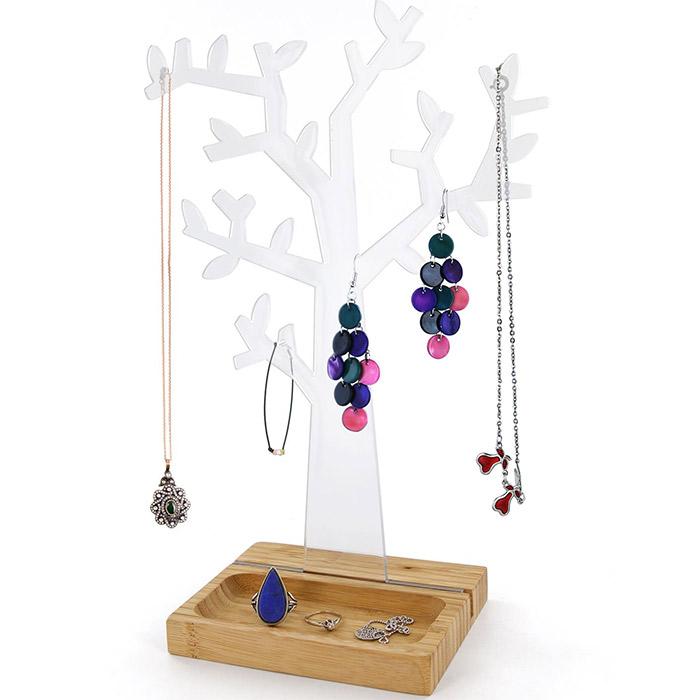 Arbre porte bijoux pour bagues colliers bracelets - Arbre porte bijoux ...