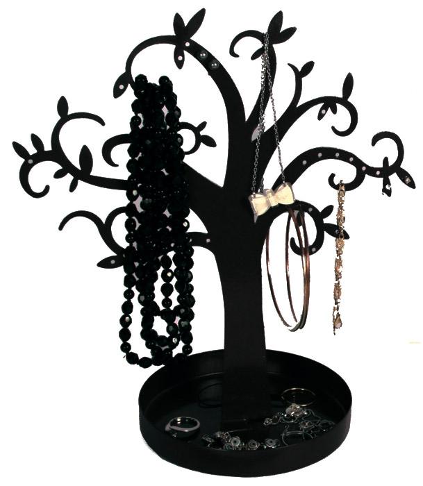 arbre porte bijoux en m tal pour boucles d 39 oreilles colliers