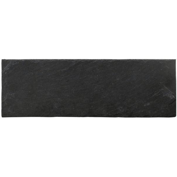 4 assiettes ardoises rectangulaires noires 30x11 cm. Black Bedroom Furniture Sets. Home Design Ideas