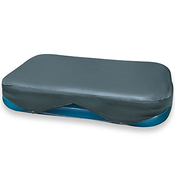 Housse bache de protection de piscine intex rectangulaire for Bache piscine intex rectangulaire