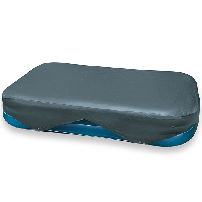 Housse bache de protection de piscine intex rectangulaire for Protection piscine