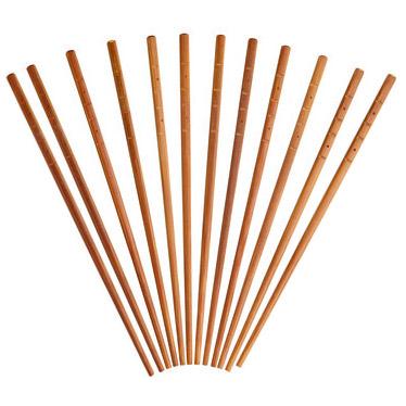 Baguettes chinoises 12 paires en bambou petit prix - Comment tenir des baguettes chinoises ...