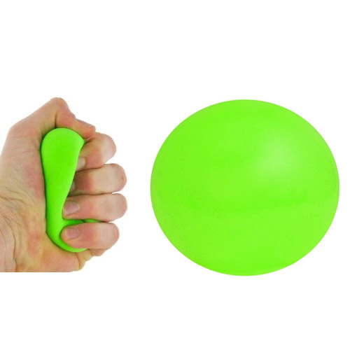 balle anti stress bleu orange vert ou fushia. Black Bedroom Furniture Sets. Home Design Ideas
