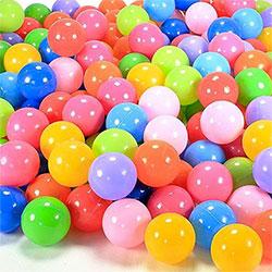 50 Balles de Jeu Plastique