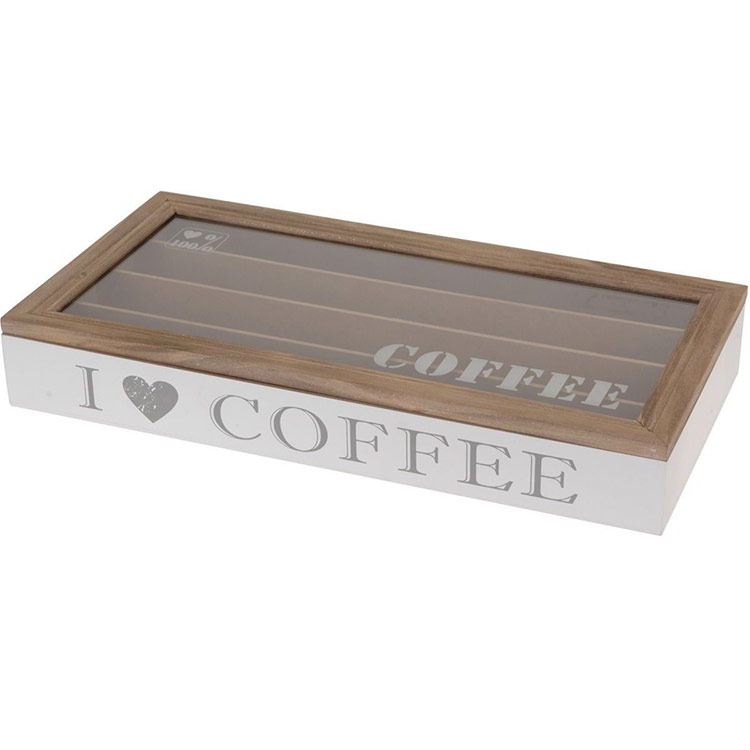 boite pour capsules de caf 233 nespresso rangement pour 40 capsules