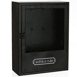 Boîte à Clés en Métal avec fenêtre en Verre