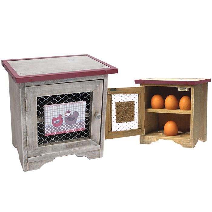 Boite oeufs en bois d co d int rieur d coration - Decoration boite bois ...