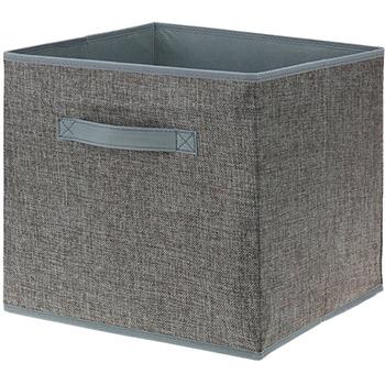 Boite de rangement tiroir avec poign e forme cube pour - Boite rangement boucles d oreilles ...