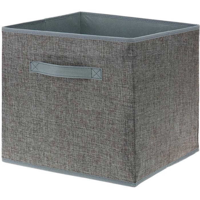 boite de rangement tiroir avec poign e forme cube pour. Black Bedroom Furniture Sets. Home Design Ideas