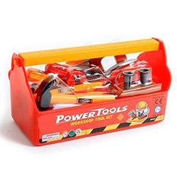 Boîte à Outils Rouge pour Enfant