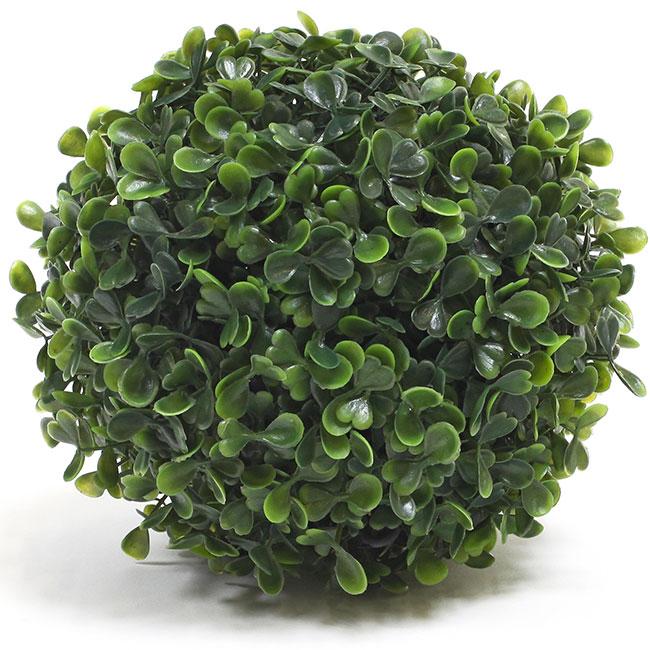 boule de buis artificiel 18 cm plantes artificielles d coration. Black Bedroom Furniture Sets. Home Design Ideas