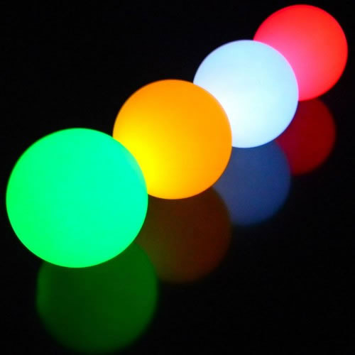 Boule lumineuse qui change de couleur for Boule lumineuse piscine
