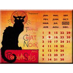 Calendrier Perpétuel Tournée du Chat Noir