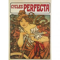 Carte Métal Cycles Perfecta 15x21 cm