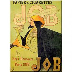 Carte Métal Papier à Cigarettes Job 15x21 cm