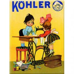 Carte Métal Köhler 15x21 cm