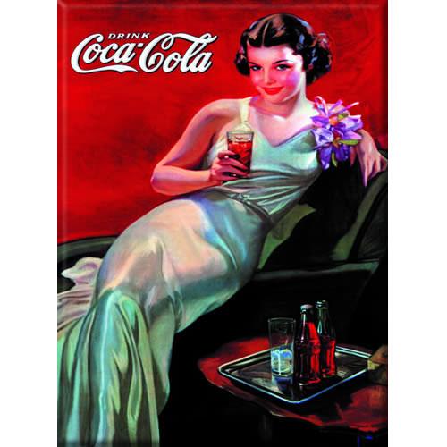 plaque m tal drink coca cola. Black Bedroom Furniture Sets. Home Design Ideas