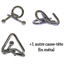 4 casse-ttes en Mtal