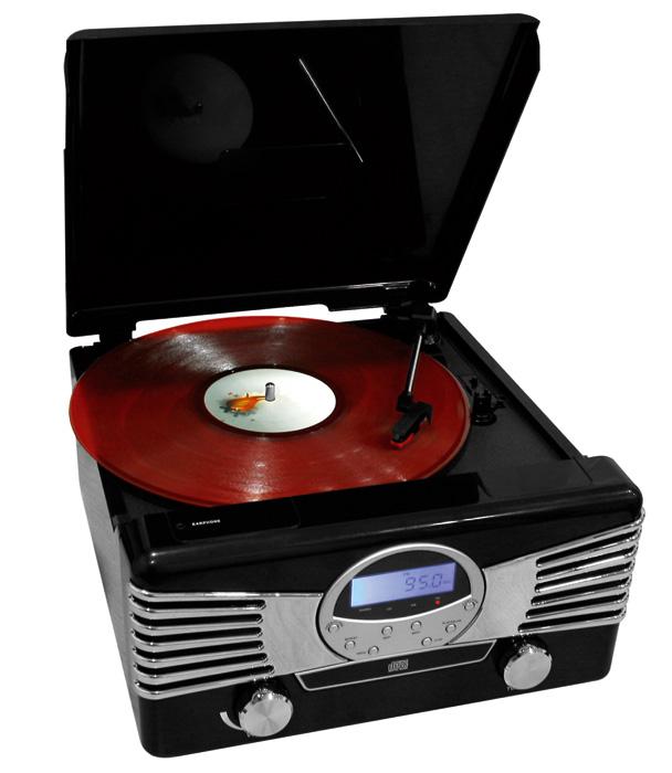 chaine hifi cd tourne disque vinyl radio am fm. Black Bedroom Furniture Sets. Home Design Ideas