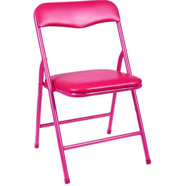 Chaise pliante enfant pratique plusieurs couleurs - Chaise pliante rose ...