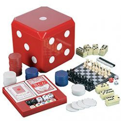 Coffret D avec 6 Jeux magntiques