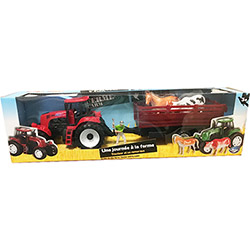 Coffret Tracteur et Remorque