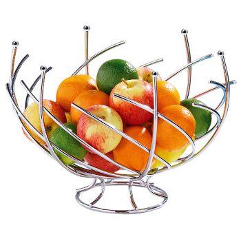 Corbeille à Fruits Design Spirales en Métal