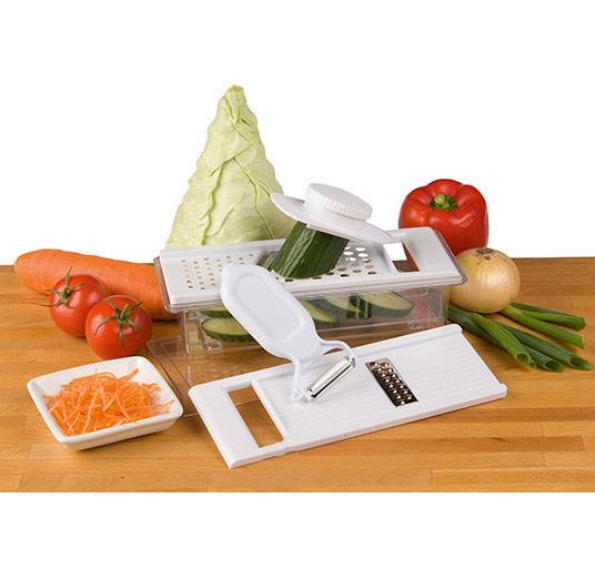 Coupe l gumes multifonctions pour raper plucher couper - Coupe legumes multifonction ...