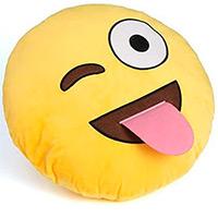 Coussin Emoji Langue
