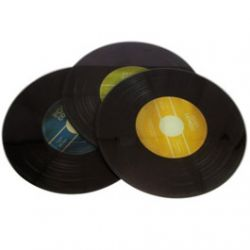 Dessous de plat Vinyle en Verre