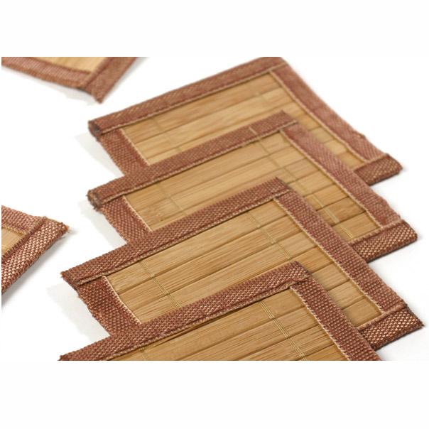 ensemble bambou avec set de table bambou chemin de table. Black Bedroom Furniture Sets. Home Design Ideas