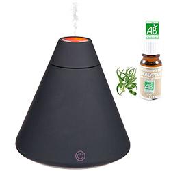 Humidificateur et Diffuseur d'huiles Essentielles USB + 1 Huile Essentielle Bio Offerte