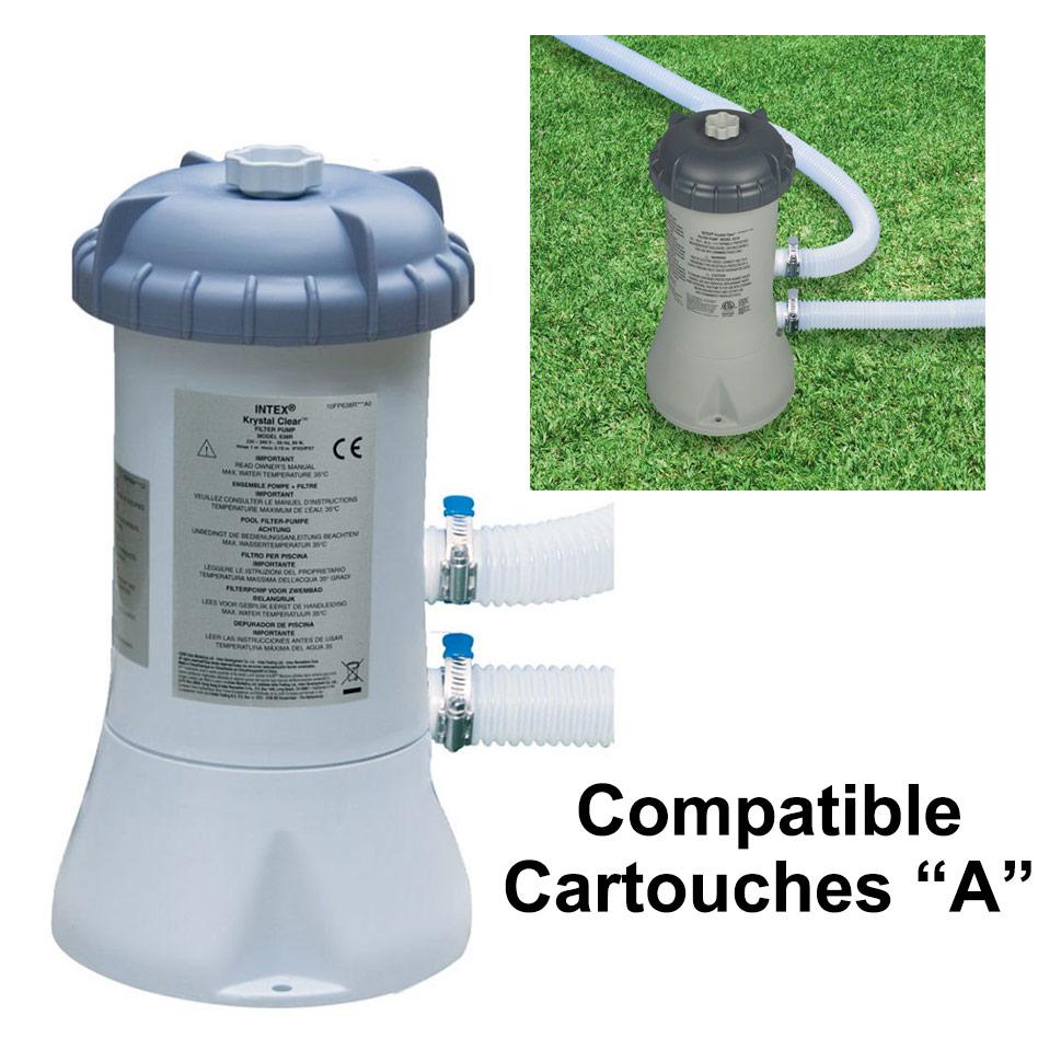 epurateur cartouches intex 2m3 filtration cartouches piscine intex a. Black Bedroom Furniture Sets. Home Design Ideas