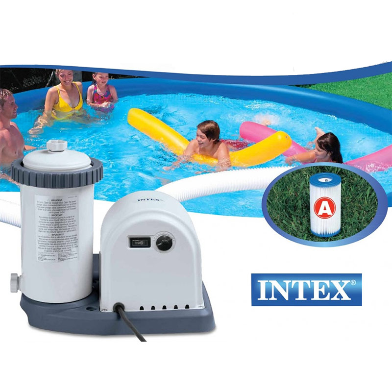 epurateur cartouches intex 5 7 m3 filtration cartouches piscine intex a. Black Bedroom Furniture Sets. Home Design Ideas