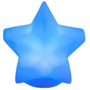 Étoile lumineuse qui change de couleur