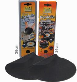 2 feuilles de cuisson en t flon pour po le. Black Bedroom Furniture Sets. Home Design Ideas