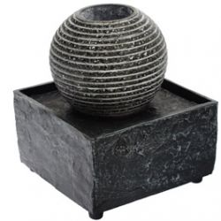 Fontaine Décorative Boule Striée