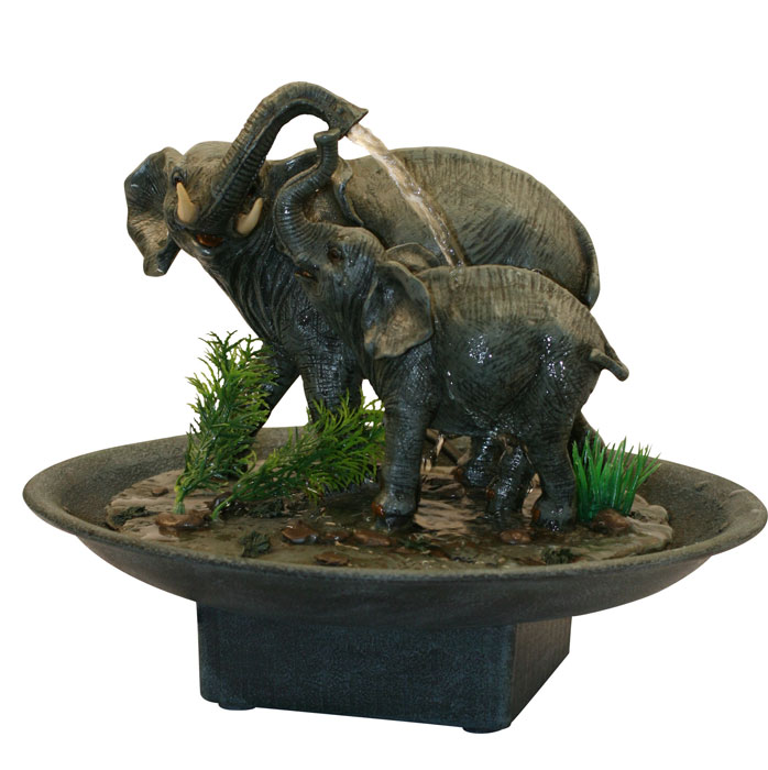 Fontaine d corative eau l phant mod le 1 for Fontaines decoratives d interieur