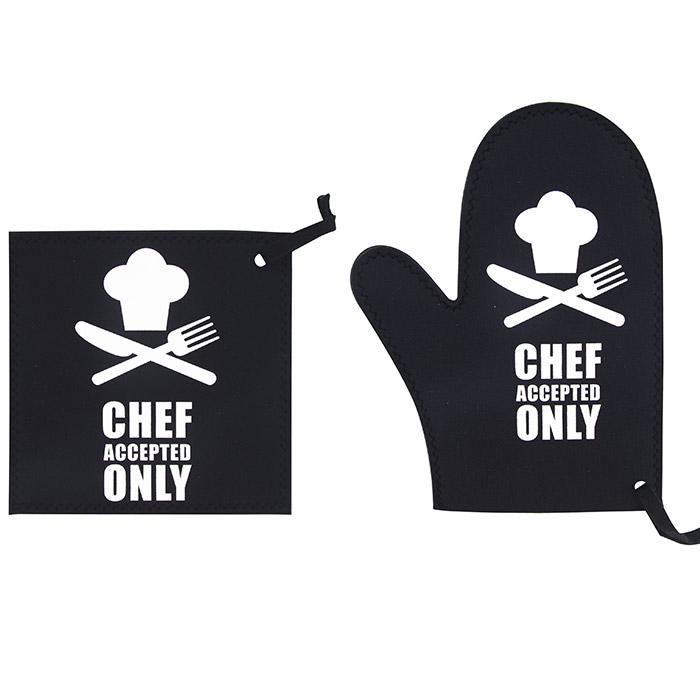 Gant et manique anti chaleur en n opr ne - Gant cuisine anti chaleur ...