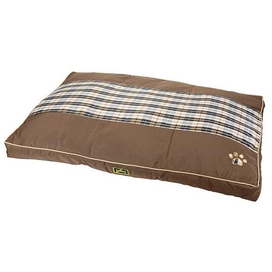 grand coussin d houssable pour chien tr s confortable 100 cm marron ebay. Black Bedroom Furniture Sets. Home Design Ideas