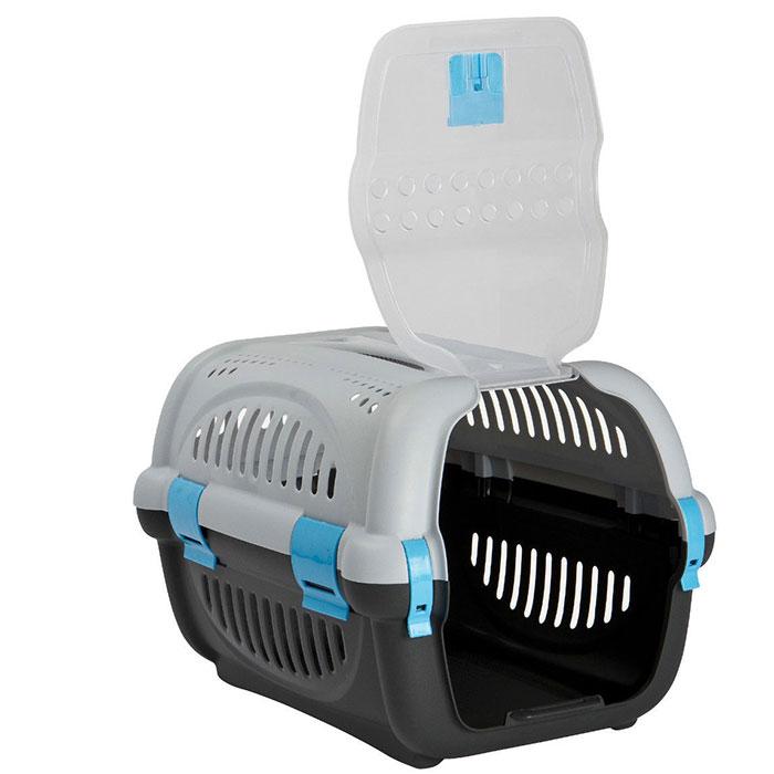 grande caisse de transport pour chat petit chien cage. Black Bedroom Furniture Sets. Home Design Ideas