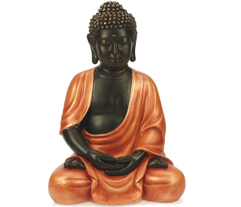 statuette bouddha 30 cm bouddha qui m dite. Black Bedroom Furniture Sets. Home Design Ideas