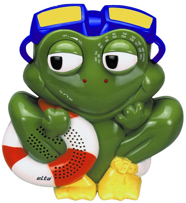 Radio grenouille pour salle de bain for Radio pour la salle de bain
