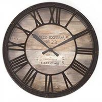 Grande Pendule design Horloge de Gare