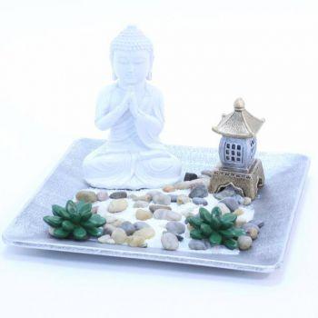 jardin zen bouddha pagode. Black Bedroom Furniture Sets. Home Design Ideas